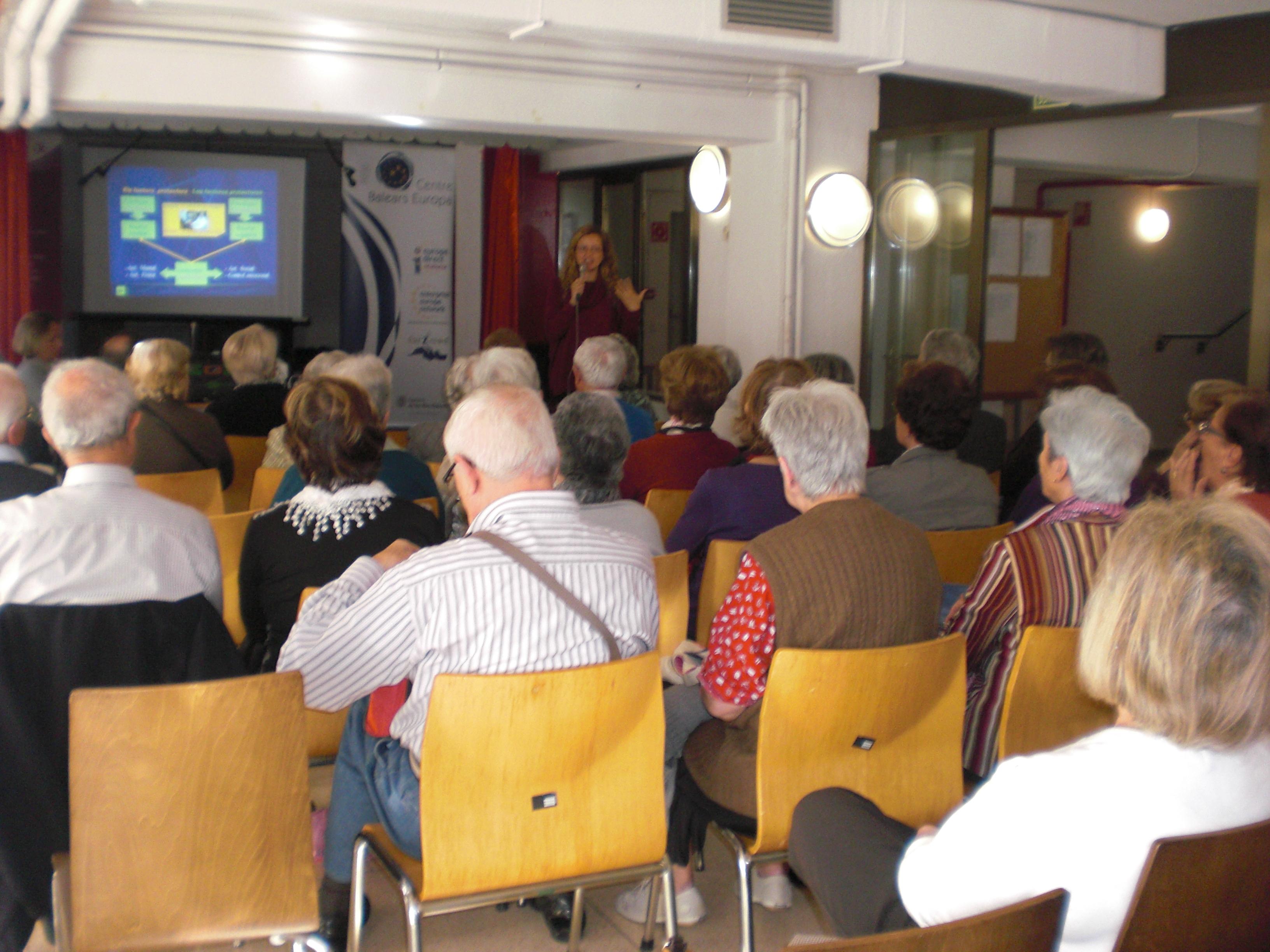 Conferència gent gran
