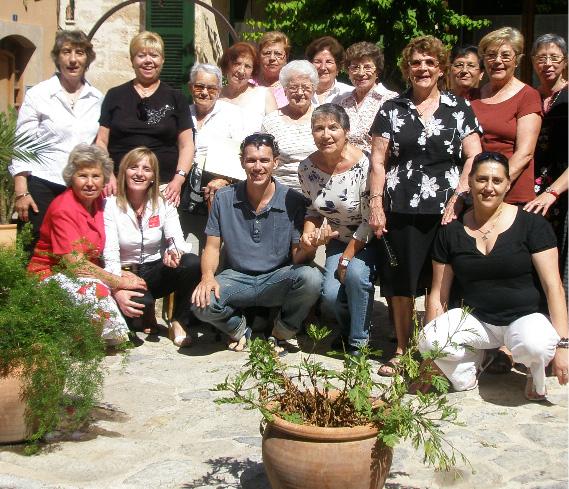 Grupo de familiares de Alcúdia 2009