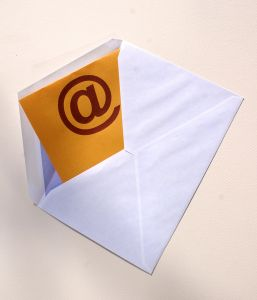 sobre con email