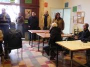 Cirer durant la visita a Sa Placeta