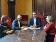 De Juan y Hila han firmado hoy el acuerdo entre las dos administraciones.