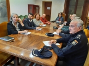 La reunió amb la Policia Nacional, la Guàrdia Civil i la delegació de Govern ha tengut lloc a la seu del Consell