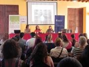 Teresa Martorell ha inaugurat la jornada amb responsables de l'altra entitat