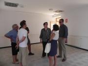 Cirer i Ferrando han visitat diferents instal·lacions del municipi.
