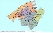 Mapa d'àrees territorials/poblacions