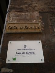 Placas de Casa de Familia